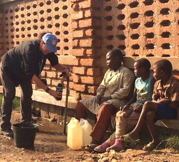Safe water in Central African Republic